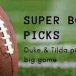 Duke & Tilda SuperBowl Picks